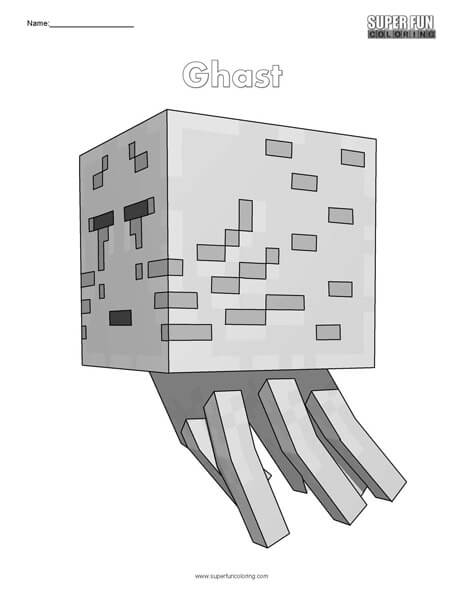 Free Minecraft Coloring Pages Pdf
