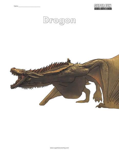 Drogon Coloring