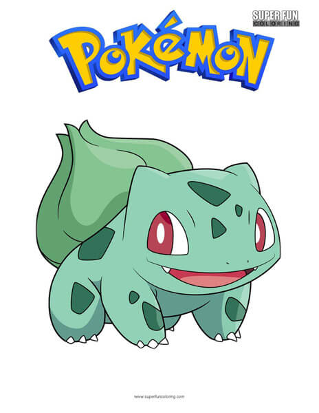 Bulbasaur Coloring Page