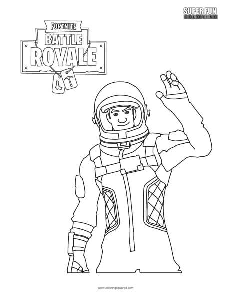 Fortnite Victory Royale Pc Coloring Sheet Agcrewall