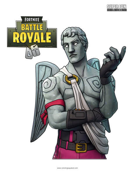 Fortnite Skins Super Fun Coloring