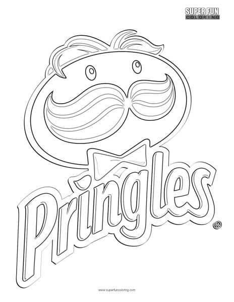 Pringles Logo Coloring Page - Super Fun Coloring