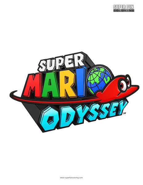 Super Mario Odyssey- Nintendo Coloring