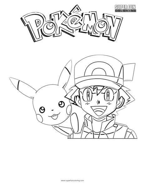 Pokémon Coloring Pages - Super Fun Coloring
