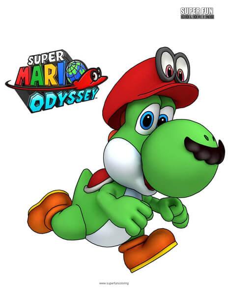 Nintendo Coloring Super Fun Coloring