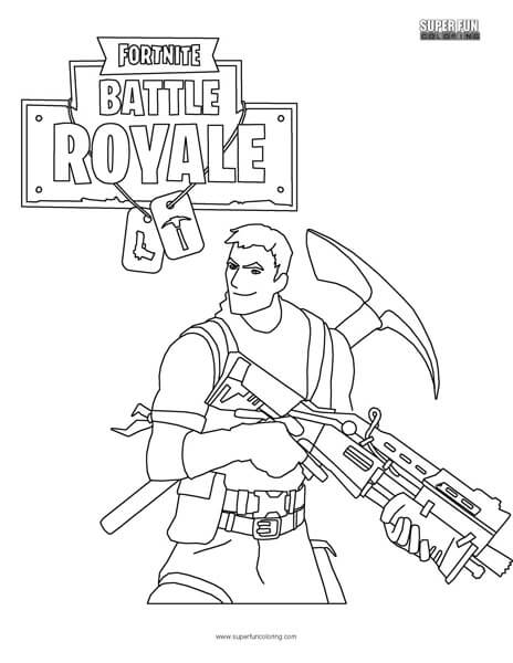 Fortnite Battle Royale Super