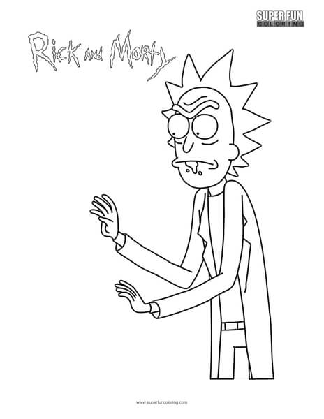 Rick And Morty Coloring Pages Coloring