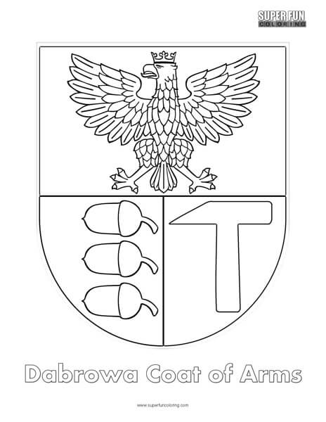 cote of ams coloring pages | Coat of Arms Coloring - Super Fun Coloring