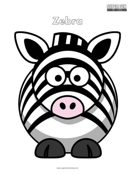 Cartoon Zebra Coloring Pages, CartoonZebraColoringPageCartoonZebraColoringPage, Cartoon Zebra Coloring Pages