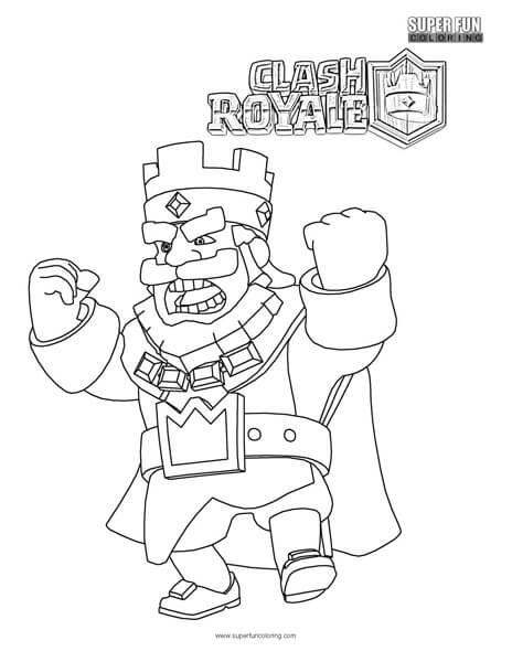 clash royale coloring pages Clash Royale Coloring Page   Super Fun Coloring clash royale coloring pages