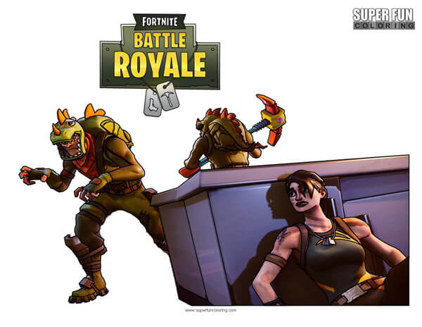 Battle Royale Super Fun Coloring
