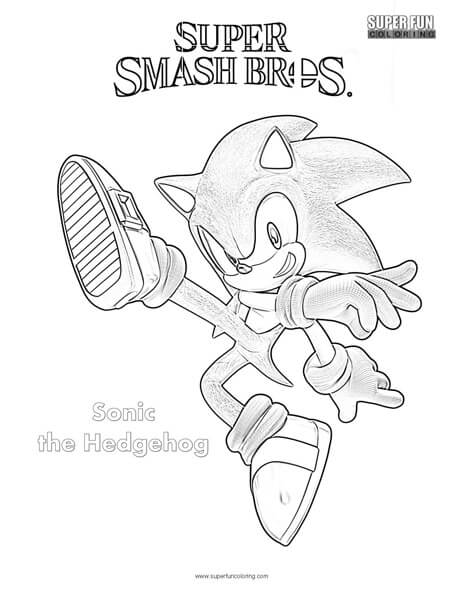 Super Smash Bros Ultimate Characters Coloring Pages Super Kins Author