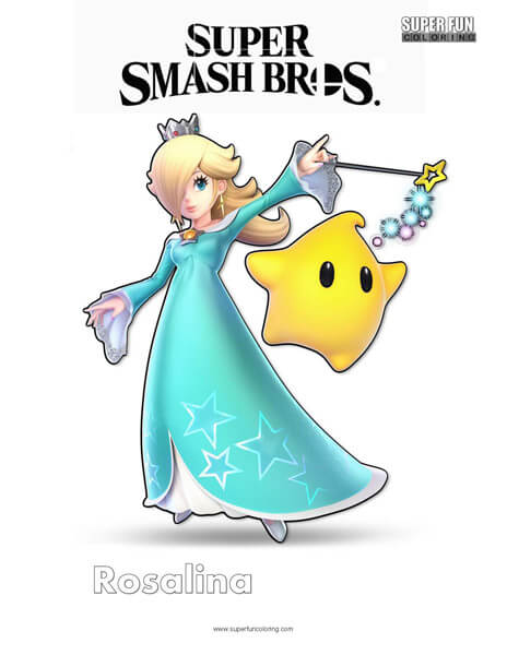 Super Smash Brothers Coloring Pages - Super Fun Coloring