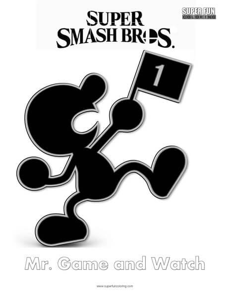 Rosalina- Super Smash Bros. Ultimate Nintendo Coloring Page