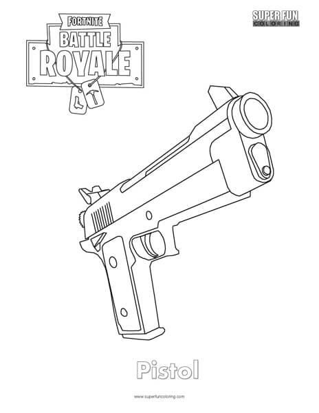 Fortnite Guns Coloring Pages Fortnite Aimbot No Ban