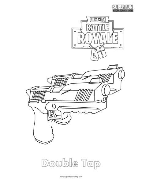 Fortnite Weapons Super Fun Coloring