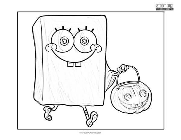 Spongebob Squarepants Coloring Page - Super Fun Coloring