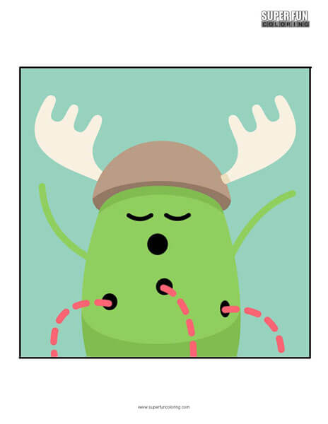 Dumb Ways to Die App Coloring Page Android Iphone