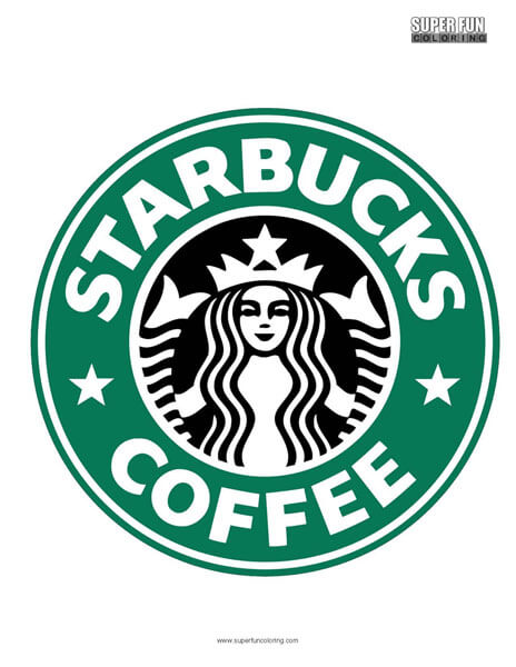 Starbucks Coloring Page Free