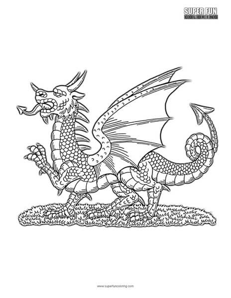 red dragon coloring pages - photo#30