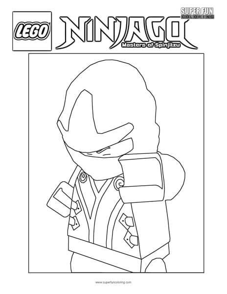 Ultimate Spinjitzu Master Ninjago Coloring Page - Super Fun Coloring
