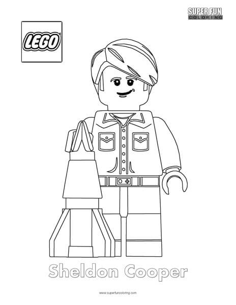 Lego minifigure coloring super fun coloring for Lego figure coloring page