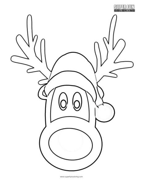 Rudolph the Red Nosed Reindeer - Super Fun Coloring